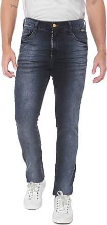 Fatal Surf Calça Jeans Fatal Skinny Amassos Azul