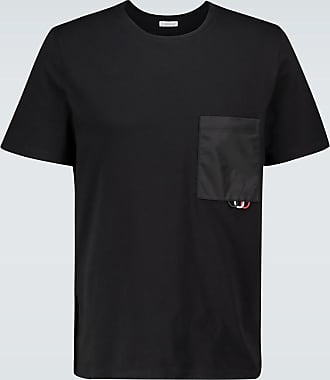Moncler T-shirt with technical pocket