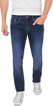 e174db687 Zoomp Calça Jeans Zoomp Slim Rockabilly Hicar Azul