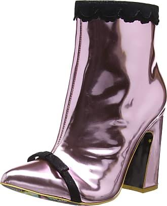 Irregular Choice Womens Anastasia Ankle Boots, Pink (Pink C), 7.5 UK (41 EU)