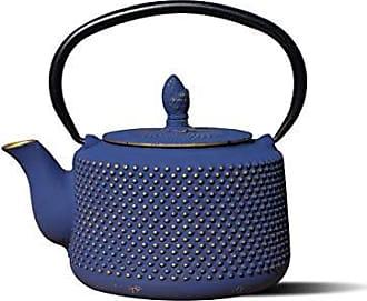 Old Dutch International 1070DB Deep Blue/Gold Cast IronMatsukasa Teapot, 28 Oz. MATSUKASA-27 OZ, 27 oz