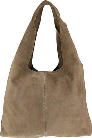 Girly HandBags Girly HandBags Plain Open Shoulder Bag - Khaki