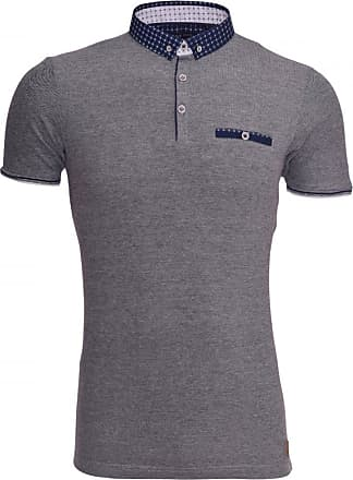 a5e14e6a Brave Soul Mens Designer Brave Soul Polo T Shirt Collar Smart Casual Short  Sleeved Top Chest