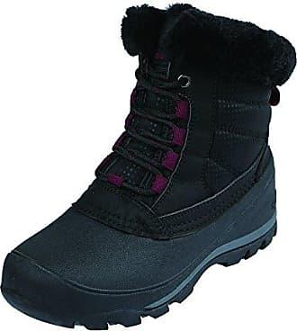 Northside Womens Andorra Snow Boot, Black/Berry, 6 Medium US