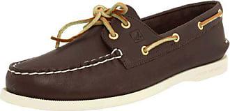 Sperry Top-Sider Sperry Womens Authentic Original 2-Eye Boat Shoe,Brown,6.5 M US