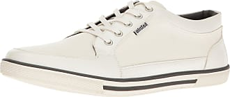 Unlisted by Kenneth Cole Mens Crown Prince Fashion Sneaker, White, 10.5 UK
