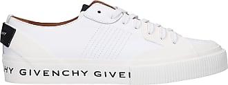 Givenchy Sneaker low TENNIS LIGHT Kalbsleder Logo weiß