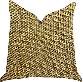 Plutus Brands Mustard Seed Double Sided Luxury Throw Pillow 12 x 25 Yellow