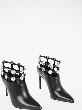 Alexander Wang 11cm Studded Leather Ankle Boots Größe 38