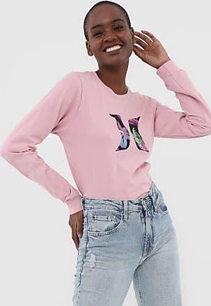 Hurley Camiseta Hurley M/L Icon Rosa