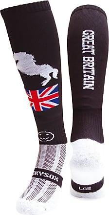 Wackysox GB Horse Black Equestrian Horse Riding Socks