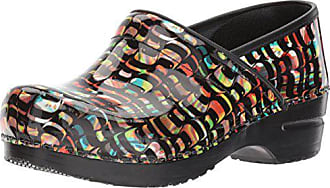 Sanita Womens Professional Passion Work Shoe Multicolor 35 EU/5 M US