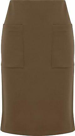 2acb444fdd7 By Malene Birger By Malene Birger Woman Crepe De Chine Skirt Chocolate Size  XS