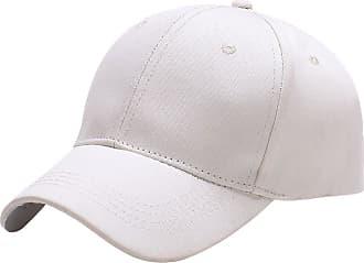 Yidarton Baseball Cap Polo Style Classic Sports Casual Plain Sun Hat(White)