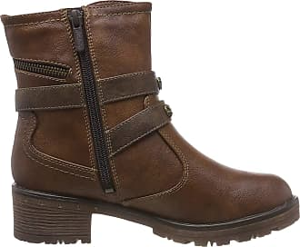 Mustang Womens Stiefelette Ankle Boots, Brown (Kastanie 301), 6.5 UK