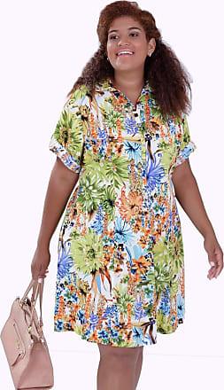 Vickttoria Vick Vestido Huston Estampado Plus Size (46)