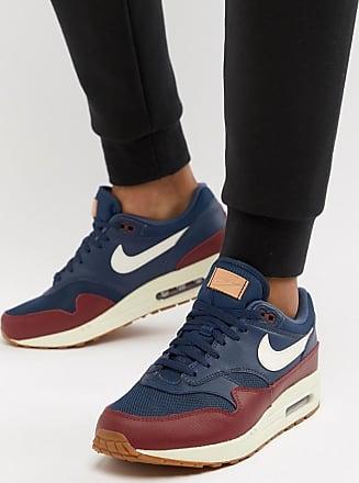 free shipping 2ffe4 af86f Nike Air Max 1 - Blåa sneakers AH8145-400 - Blå