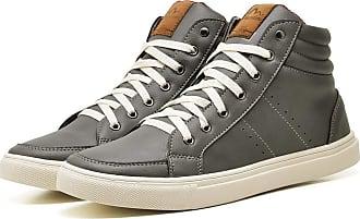 Juilli Sapatênis Sapato Casual Masculino JUILLI 1610DB Tamanho:37;cor:Cinza;gênero:Masculino