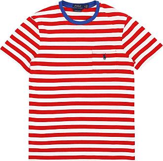 Ralph Lauren Polo ralph lauren Striped pocket t-shirt CRUISE RED/WHITE XL