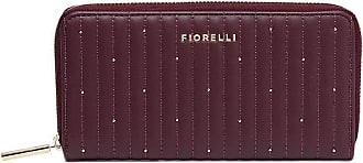 Fiorelli Womens City Oxblood Quilt Purse