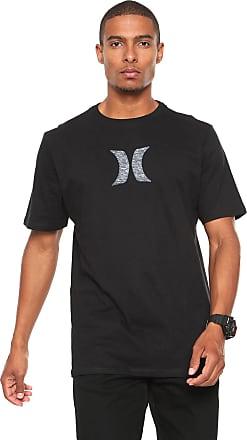 8784033cf3888 Hurley Camiseta Hurley Silk Icon Push Preta