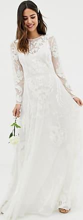 Asos Nouveau - Hochzeitskleid mit Stickerei-Grün