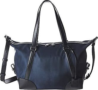 c051f2becaa Salvatore Ferragamo The Gancini Nylon Weekender - 24A132 (Navy/Black)  Weekender/Overnight