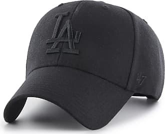 47 Brand Los Angeles Dodgers MVP Adjustable Baseball Cap Black/Black