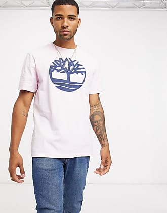 Timberland River Tree t-shirt in light pink-Purple