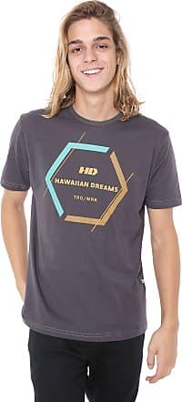 Hawaiian Dreams Camiseta HD Cluster Cinza