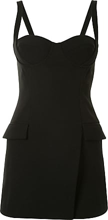 Dion Lee fitted strap bustier mini dress - Black