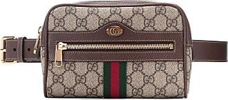 f8a9282d41 Gucci Sac ceinture Ophidia GG Supreme Small en cuir et toile