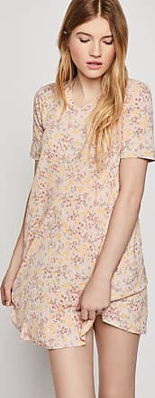 BCBGeneration Allover Floral A-Line Dress