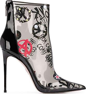 Le Silla Ankle boot com estampa gráfica - Preto