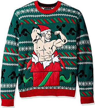 Blizzard Bay Mens Gift of Gains Ugly Christmas Sweater, Medium