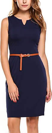 Zeagoo Womens Dress - blue - UK 12