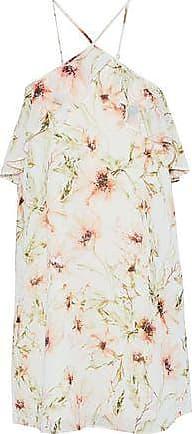 5ffda8566767 Haute Hippie Haute Hippie Woman Ruffle-trimmed Floral-print Chiffon Mini  Dress Off-