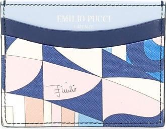 Emilio Pucci Porta-cartões Sirens Song - Azul