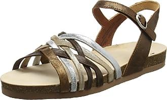 Think Womens Shik_282596 Ankle Strap Sandals, Brown Chestnut Combi 50, 6.5 UK