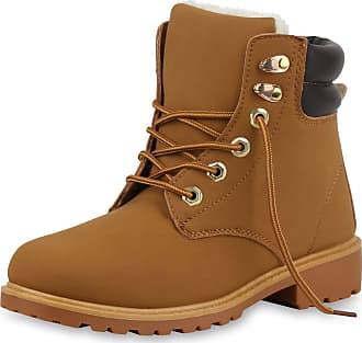 Scarpe Vita Women Bootee Worker Boots Warm Lined Tread Sole 165571 Light Brown UK 6.5 EU 40