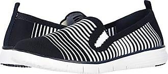 Propét Propet Womens Travel Fit Slipon Sneaker Navy/White 10 B US