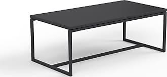 MYCS Beistelltisch Schwarz - Eleganter Nachttisch: Hochwertige Materialien, einzigartiges Design - 81 x 31 x 42 cm, Komplett anpassbar