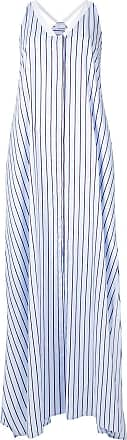 Rosetta Getty Vestido listrado - Azul