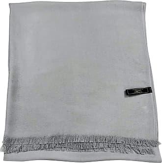 CJ Apparel Light Grey Fringe Solid Colour Design Shawl Scarf Wrap Stole Throw Pashmina Pashminas CJ Apparel NEW