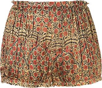 Khaite Short com estampa floral Hilary - Vermelho