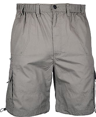 Espionage Big Mens Olive Helm Poplin Cargo Shorts, Size : 3XL