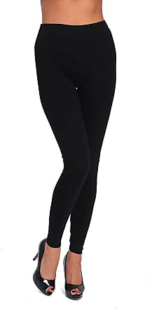 FUTURO FASHION High Waisted Womens Leggings Plus Sizes LWP Black Size 16