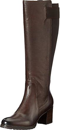 Geox lise abx a marron bottines boots femme chaussures