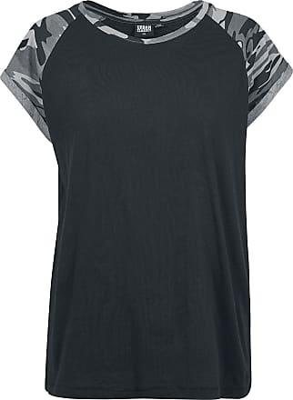 Urban Classics Ladies Contrast Raglan Tee - T-Shirt - schwarz, darkcamo