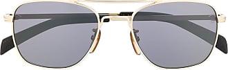 David Beckham Óculos de sol quadrado 7019/S - Preto